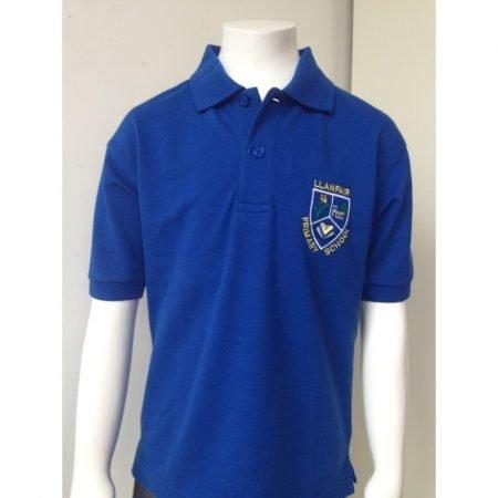 Llanfair Polo Shirt - Blue - 7-8