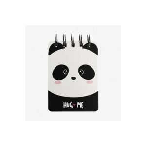 Legami Wirebound Pocket Notebook - Panda