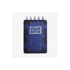 Legami Wirebound Pocket Notebook - Stars