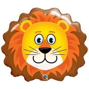29 inch Lion Head Supershape Balloon