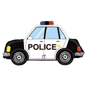 34 inch Police Car Supershape Balloon