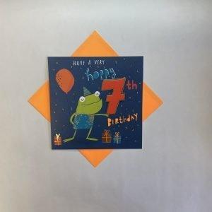 Rachel Ellen Have A Very Hoppy 7th Birthday Card