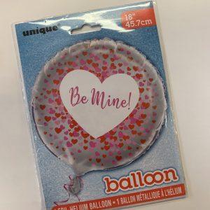 18 inch Be Mine Balloon
