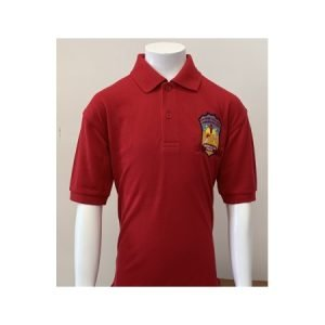 Pendoylan Polo Shirt - Red - 3-4
