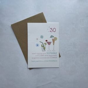 30 Cocktails Card