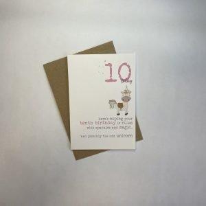 10 Today Unicorn Card