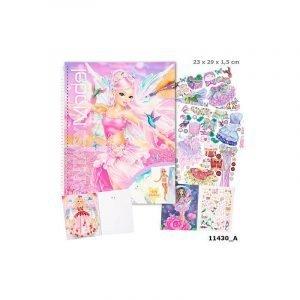 Fantasy Model Create Your Fantasy Model Colouring & Sticker Book