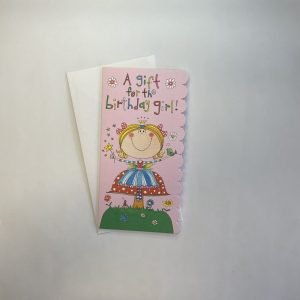 Money / Gift Voucher Wallet - A Gift For The Birthday Girl