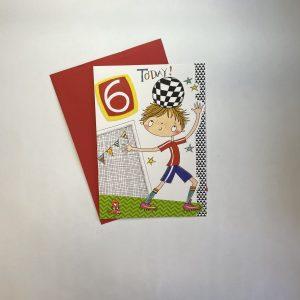 Rachel Ellen 6 Today Footballer Card