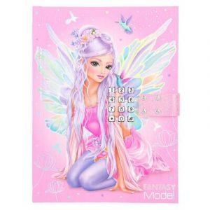 Fantasy Model Fairy Lockable Diary