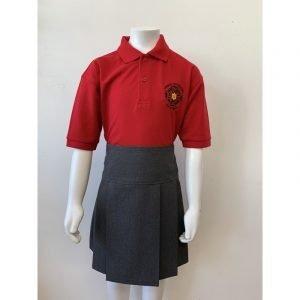 Ysgol Gymraeg Dewi Sant Polo Shirt - Red