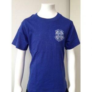 Ysgol Iolo Morgannwg PE T-Shirt - Blue