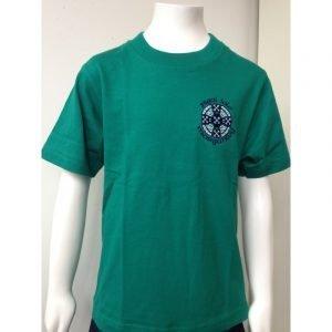 Ysgol Iolo Morgannwg PE T-Shirt - Green