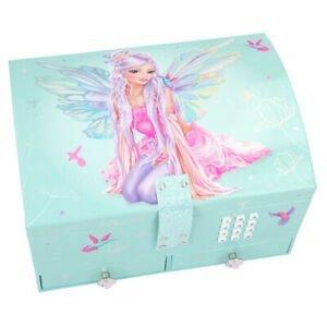 Fantasy Model Fairy Lockable Jewellery Box