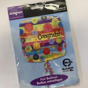 18 inch Congratulations - Congrats Balloon