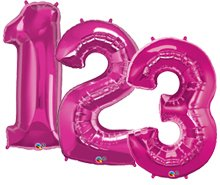 Large Number Helium Balloon