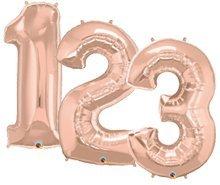Large Number Helium Balloon